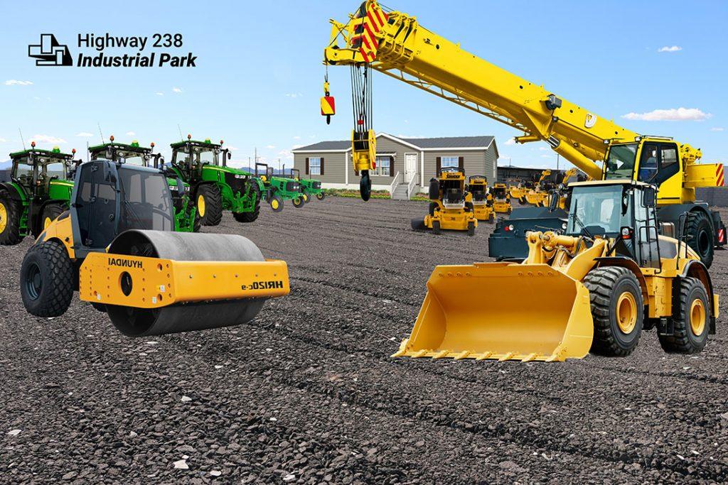 Maricopa Heavy Equipment Storage